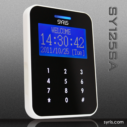 Single Door Touch Lcd Display Controller Standalone