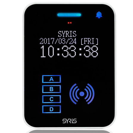 TCP/IP UHF+HF RFID Reader - Reader - ACS - SYRIS Technology